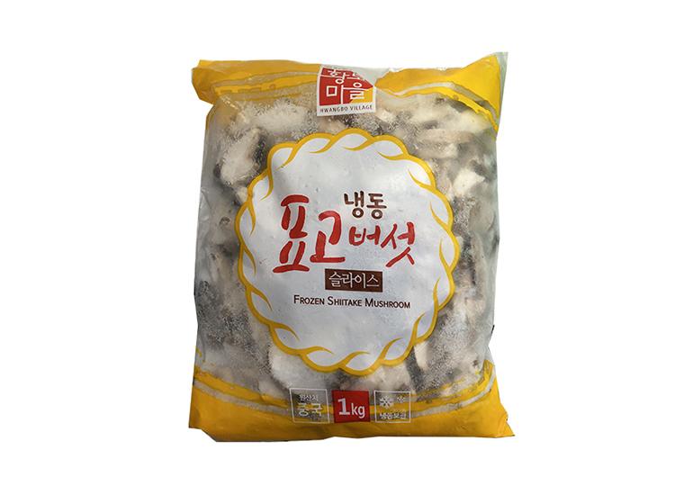 황보)냉동표고버섯슬라이스1kg