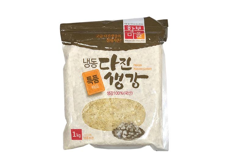 황보)냉동다진생강1kg(국산)