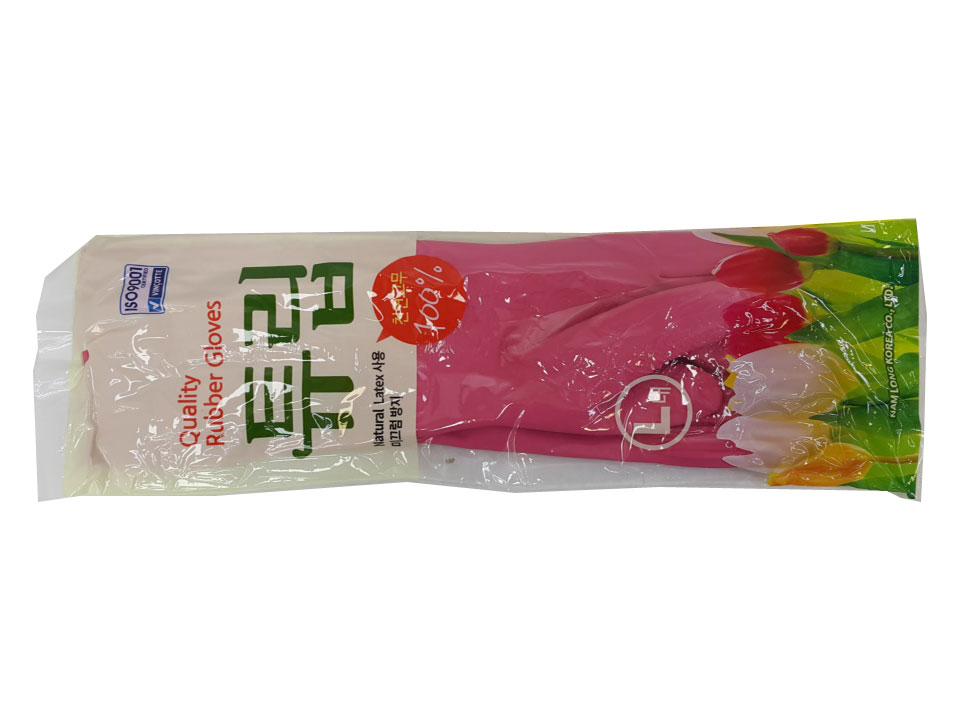 남롱)튜립고무장갑-대