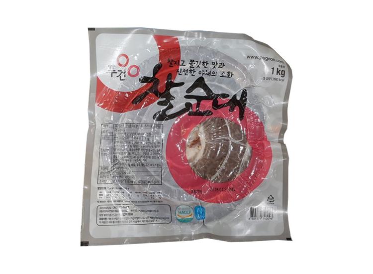 푸건)찰순대1kg