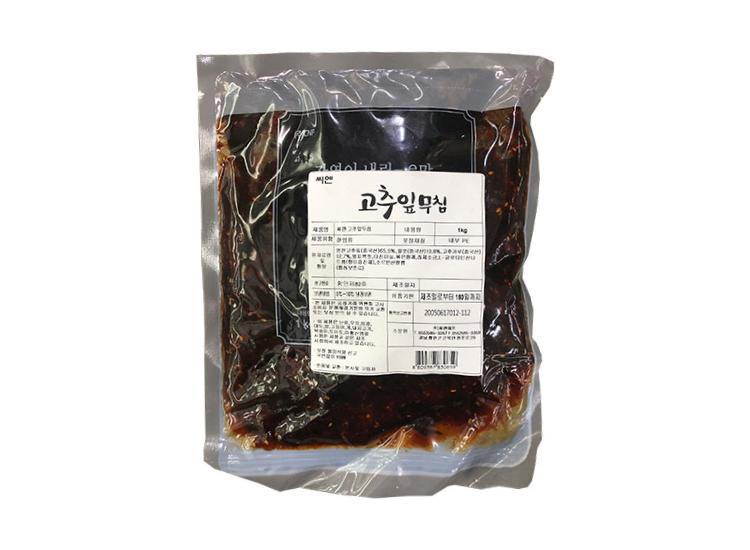 씨엔)고추잎무침1kg