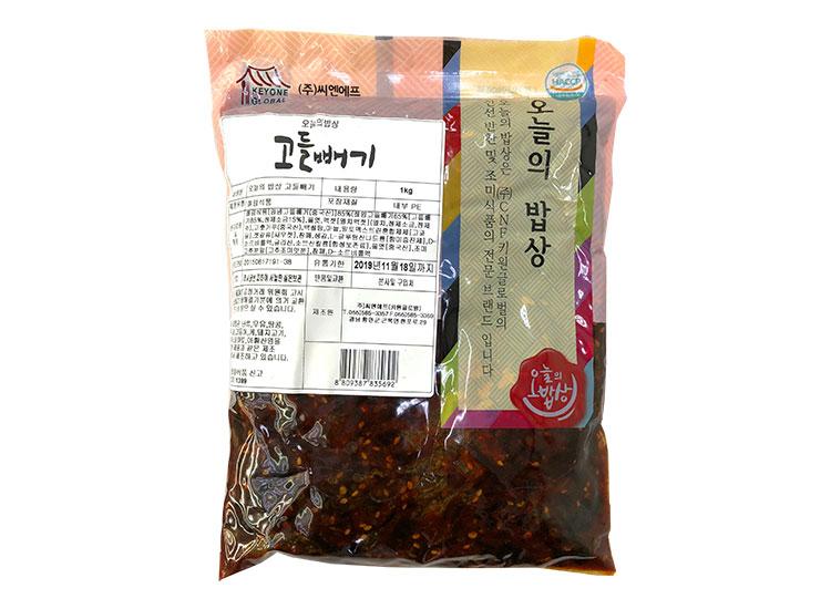 오늘의밥상)고들빼기1kg
