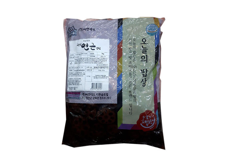 오늘의밥상)간장연근조림4kg