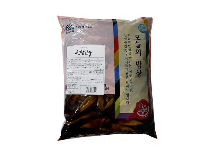 오늘의밥상)간장고추4kg