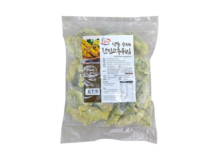 씨엔)수제한입고추튀김(S)1kg