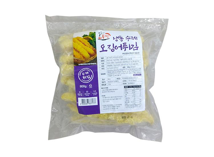 씨엔)수제오징어튀김800g