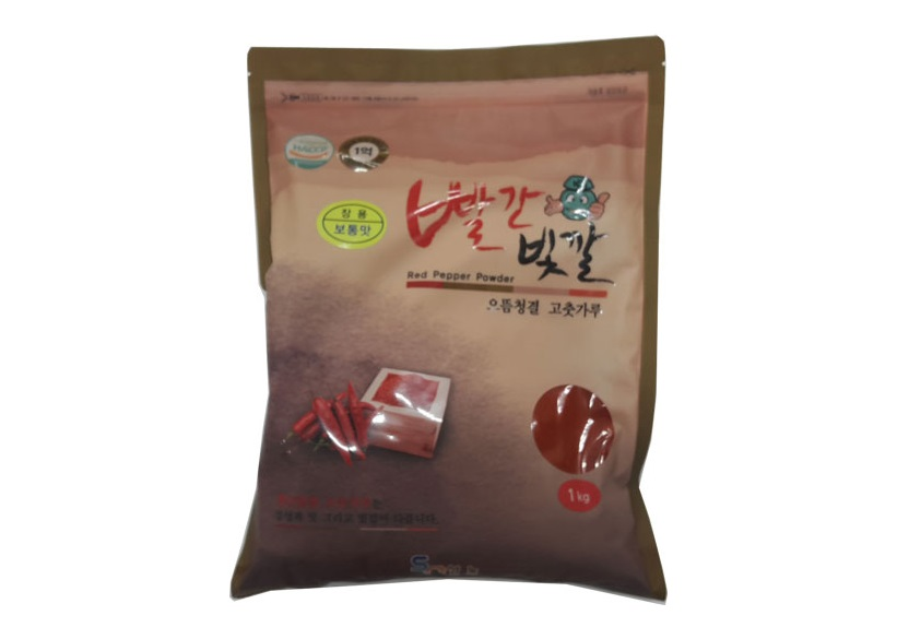빨간빛깔고추가루1kg(중국산,장용)