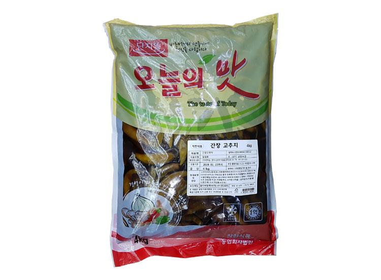 착한식품)간장고추지4kg