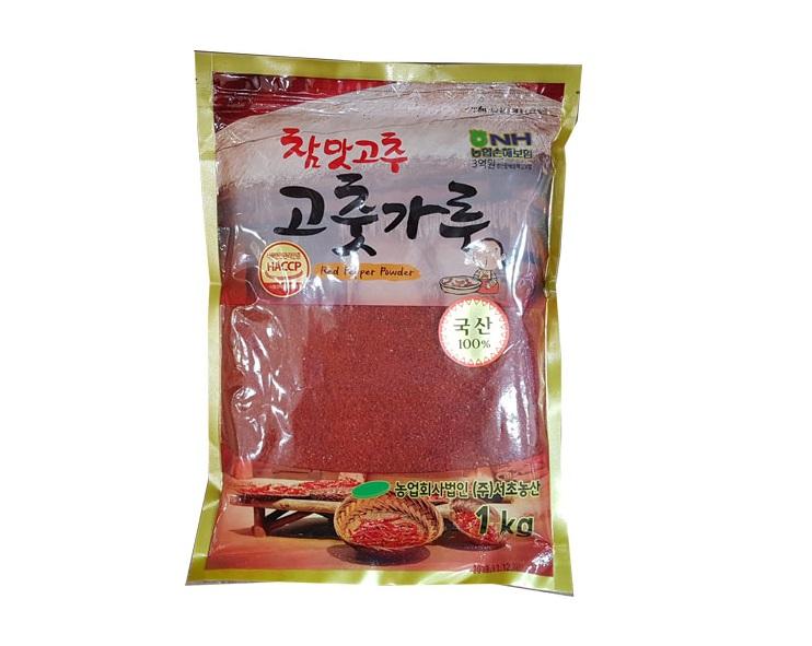 참맛고추가루1kg(국산,김치용)