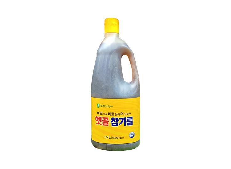 옛골참기름1.5L(100%)