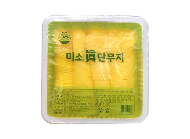 미소진)단무지반달슬라이스2.7kg
