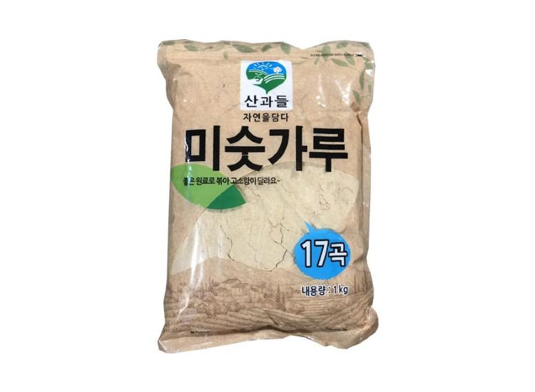 산과들)미숫가루17곡1kg