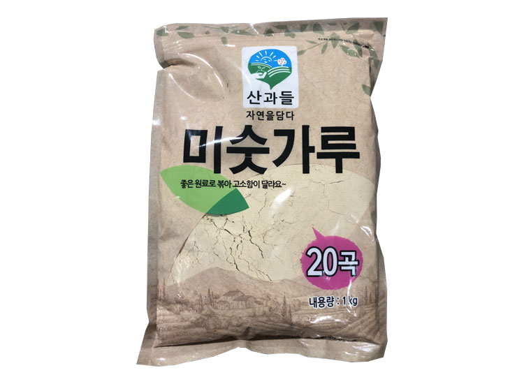 산과들)미숫가루20곡1kg