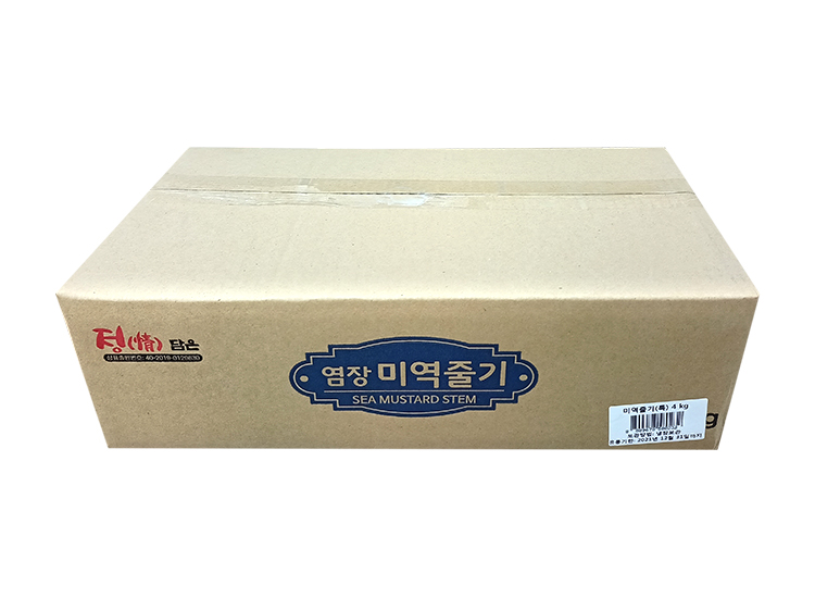 선진)염장미역줄기(특)4kg