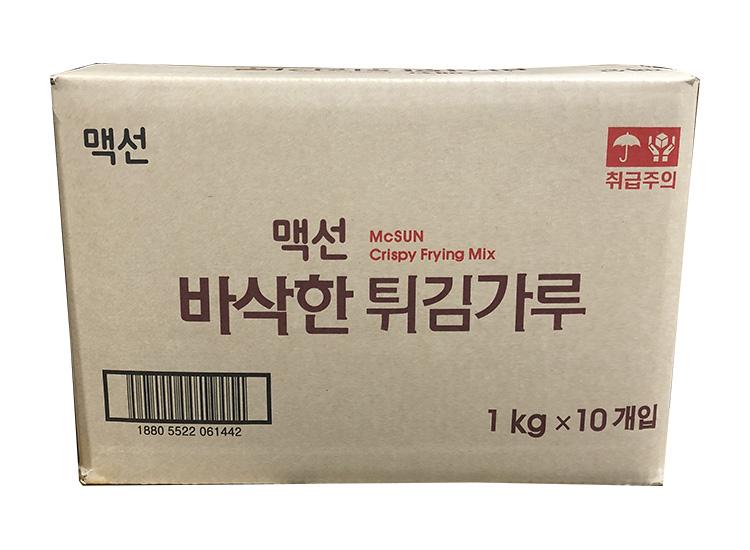 맥선)바삭한튀김가루1kg*10-box