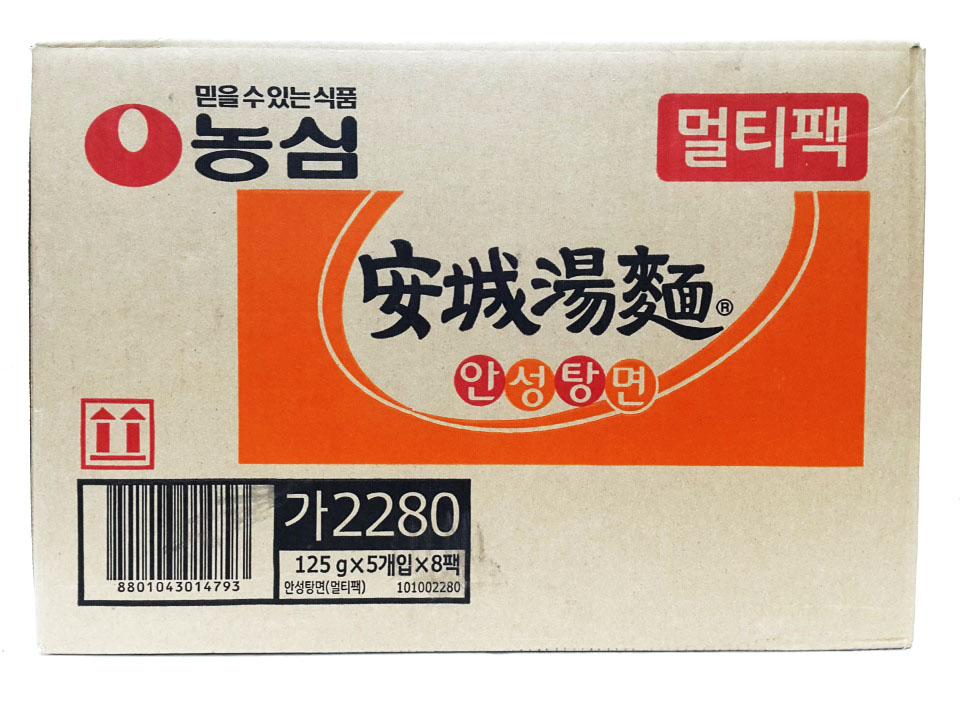 농심)안성탕면멀티125g*5*8-box