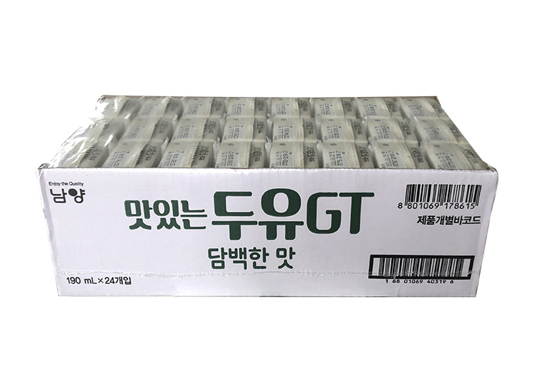 남양)맛있는두유GT담백한맛190m*24-box