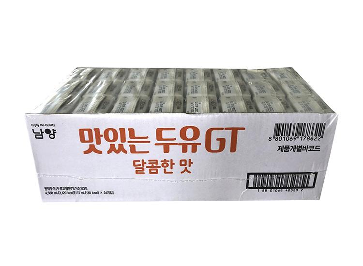 남양)맛있는두유GT달콤한맛190ml*24-box