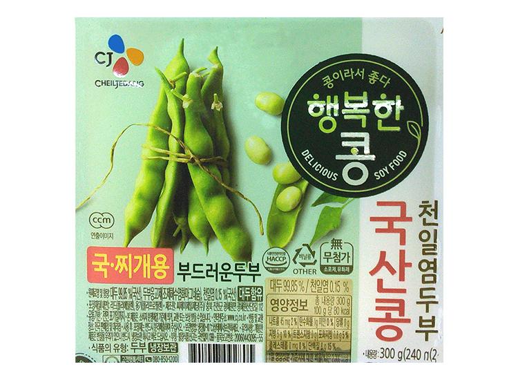 백설)행복한콩국산두부찌개용300g