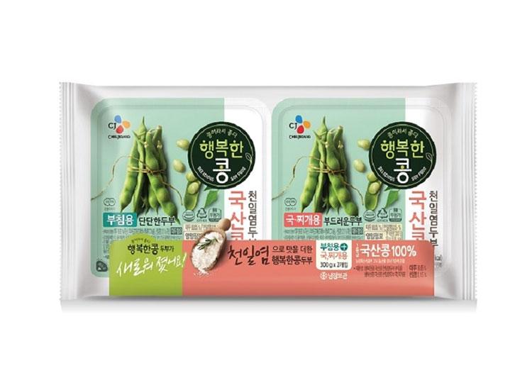 백설)행복한콩부침300g 찌개300g