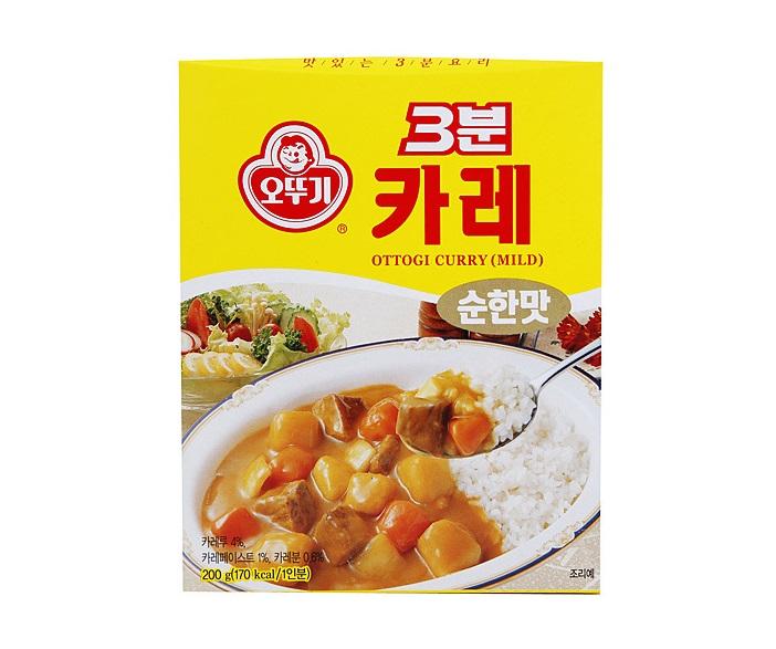 오뚜기)3분카레순한맛200g