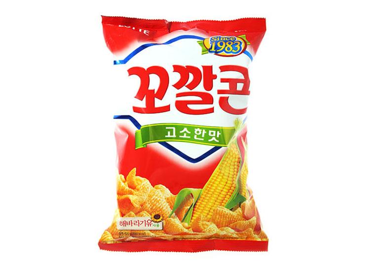 롯데)꼬깔콘고소한맛120g