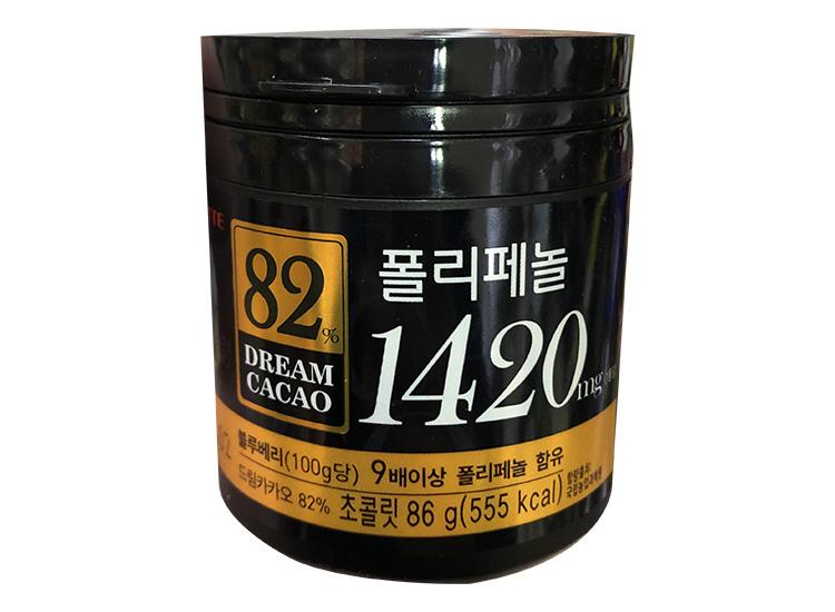 롯데)드림카카오82%(86g)