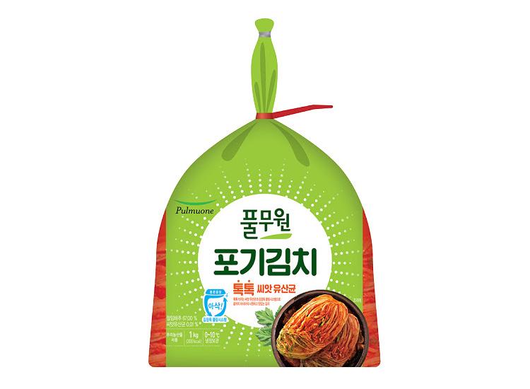 풀무원)톡톡포기김치1kg