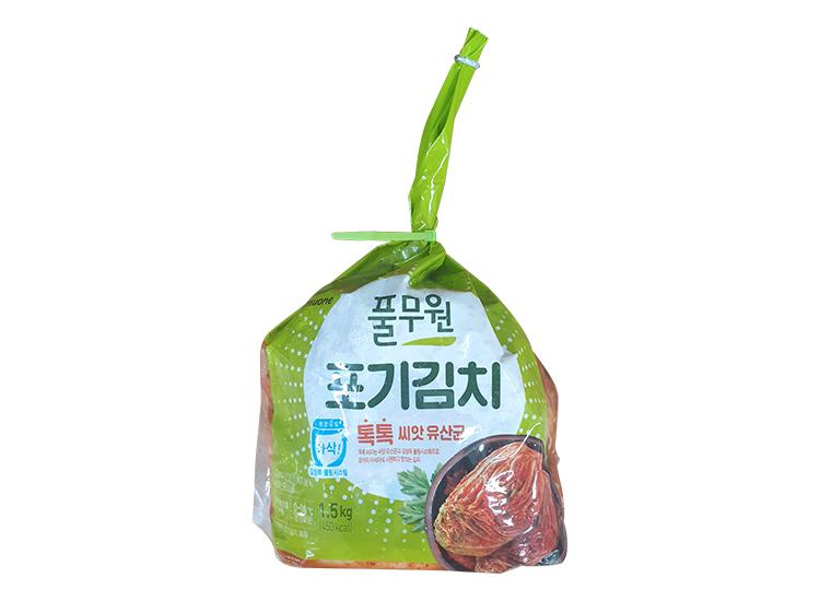 풀무원)톡톡포기김치1.5kg
