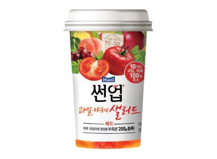 매일)썬업리치과일야채샐러드레드190ml