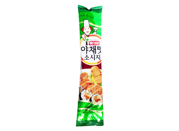 롯데햄)야채맛소시지190g