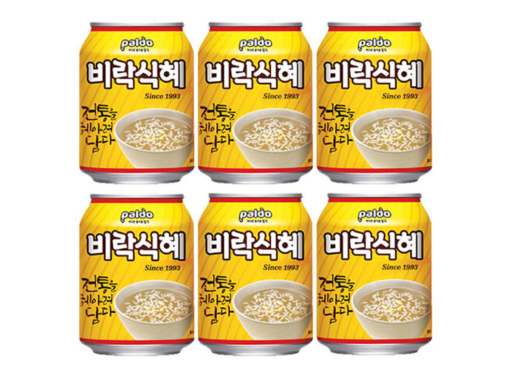 팔도)비락식혜238ml(캔)*6