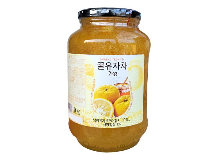 초록원)꿀유자차2kg..
